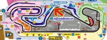 F1 tickets GP Barcelona <br>  Grandstand N Montmelo <br> Spanish Formula 1 Grand Prix tickets